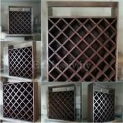 Шкаф для вина из ольхи
